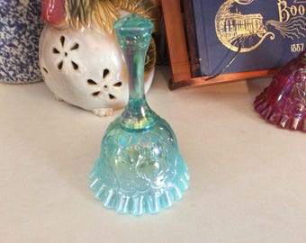 Fenton Bell, Opalescent Teal, Spanish Lace
