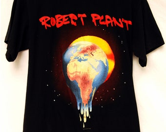 Vintage 90s Robert Plant Concert Tour Shirt Rock Band Tee T-shirts Merch 1993 Led Zeppelin T Shirt FREE Shipping