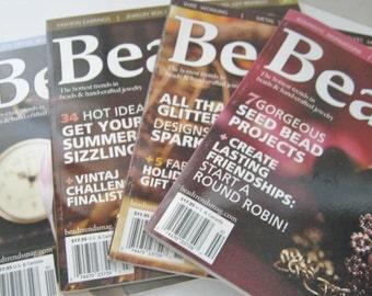 Destash-Four Beading Magazines