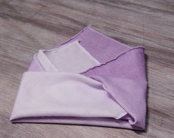 Purple Ombre Cloth Napkins - Set of 6