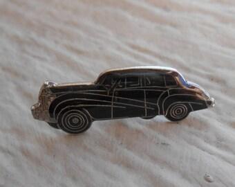 Vintage Rolls Royce 1950s Wraith Pin. Anniversary, Dad, Groomsmen Gift, Birthday. Lapel Pin