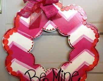 Valentine Wreath Door Hanger