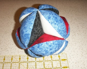 Tsalagi (Cherokee Medicine Wheel Colors) - Grab Ball - Baby Exercise Toy
