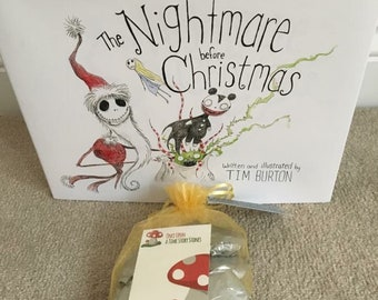 The Nightmare Before Christmas Story Stone Set