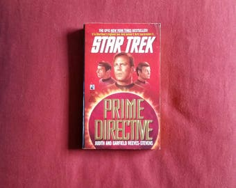Judith and Garfield Reeves-Stevens - Prime Directive (Pocket Books 1991) - Star Trek