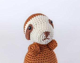 Sloth Amigurumi - Crochet Sloth - Sloth Stuffed Toy - Sloth Stuffed Animal - Sloth Plush - Sloth Toy
