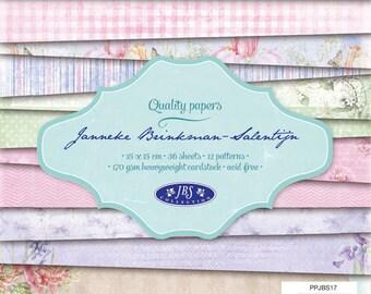 Block paper 15 x 15 - 36feuilles - 170g - JBS - PPJBS17