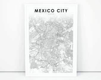 Mexico map Etsy