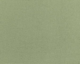 """Moss Duck Cloth 60"""" Wide By The Yard 9.3 oz"""