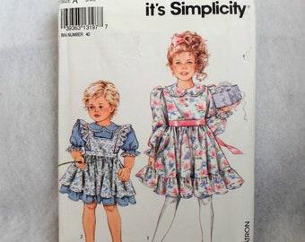 Childs Dress and Pinafore Pattern