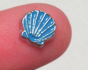 Seashell Floating Charm for Glass Memory Locket FC14 - 1 Charm Beach Theme
