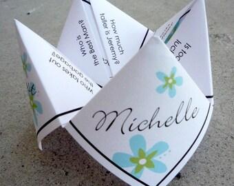 Wedding Favor/Love Quote Cootie Catcher (PDF - PRINTABLE)