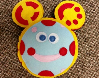 Oh toodles, Toodles inspired handmade plush toy/pillow, Plush Toy, Handmade Toy, Mickey Mouse, Mickey Mouse Clubhouse