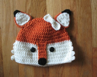 Crochet Fox Hat