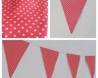 Coral dotty bunting