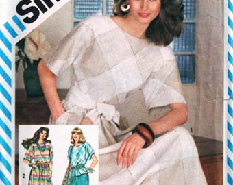 Simplicity Sewing Pattern 5975 Misses' Skirt, Pants and Pullover Top   Size:  N  10-12-14  Uncut
