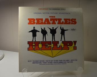 The Beatles Help  Motion Picture Soundtrack