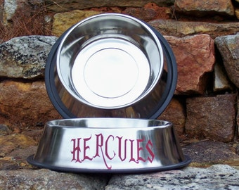 Hercules - Large Stainless Steel Bowl