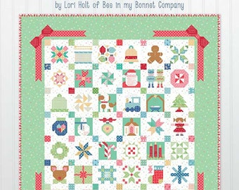 Vintage Christmas Book by Lori Holt of Bee In My Bonnet - PREORDER - New Quilt Book - Lori Holt Quilt Patterns - OCTOBER DELIVERY