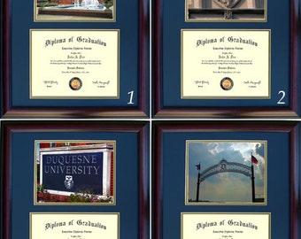 Duquesne Diploma Frame