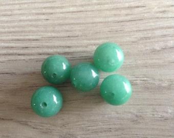 10 x 5 mm aventurine stone beads