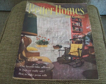 Better Homes and Gardens Magazine October 1950. Price Includes Shipping.