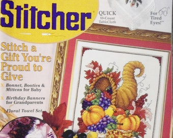 The Cross Stitcher October 1998 Magazine Volume 15 Number 4
