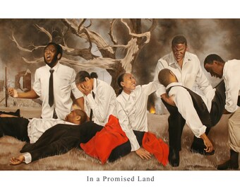"""PRE ORDER// In a Promised Land (36"""" x 18"""" Print on Canvas)"""