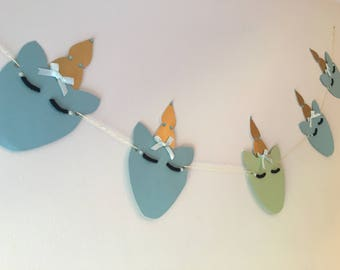 Handmade Unicorn Garland