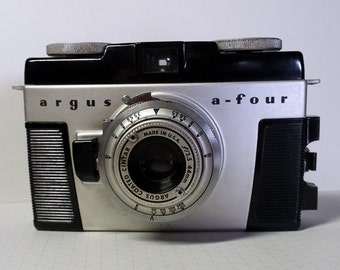 Vintage Argus A-Four 35mm Viewfinder Camera 1950s