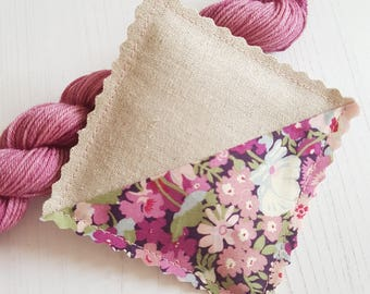 Liberty of London & Linen Lavender Pillow