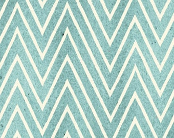 Blue Chevron, Draw Near, J Wecker Frisch, Quilting Treasures, Artsy Fabric, Quilting Cotton, Fabric By The Yard. Artists, Blue Zig Zag, Teal