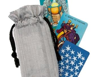 Double Silk Tarot Bag - Many Colors