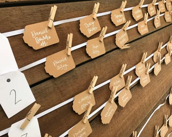 50 Place Card Tags