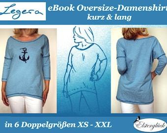 eBook LEGERA Oversize Shirt sewing pattern
