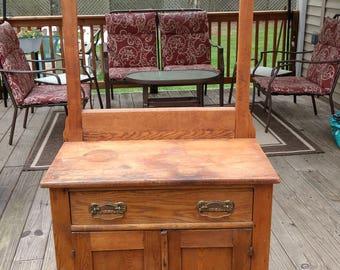 Antique washstand