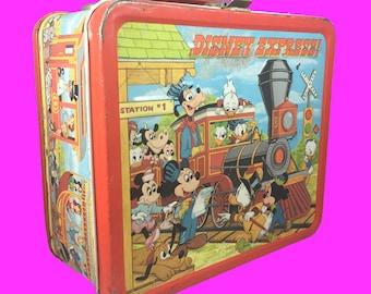 1979 Disney Express lunch box