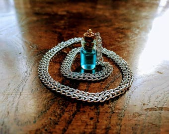 Potion Bottle Necklace or Charm