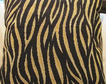 Lee Jofa Tiger Stripe Frieze Pillow Cover