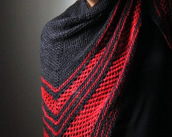 VIRAGO Shawl Knitting Pattern PDF