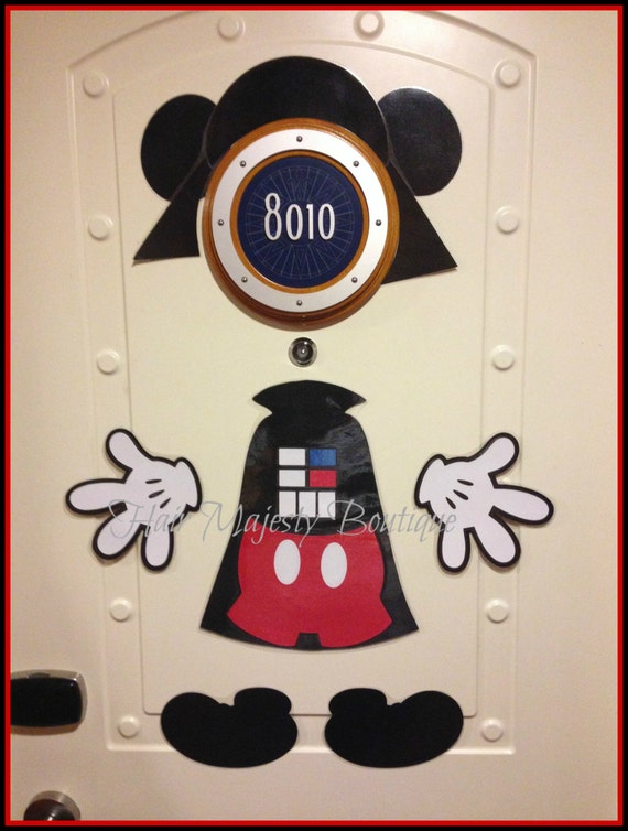 Mickey Mouse As Darth Vader Body Part Magnet for Cruise Door & Mickey Mouse As Darth Vader Body Part Magnet for Cruise Door from ...
