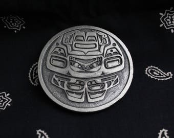 Vintage Belt Buckle - Made in Canada 1970s