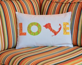 Cape Cod Love Pillow
