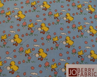 Yellow Ducks from the Toy Chest Collection by Penny Rose Fabrics.  Quilt or Craft Fabric, Fabric by the Yard