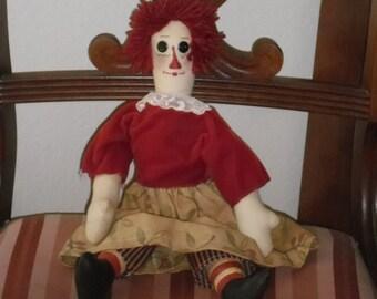Folk OOAK Soft Handmade Doll