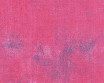 Grunge Basics - Grunge in Berry - Basic Grey for Moda Fabrics - 30150 288 - Half Yard