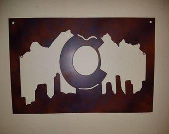 Colorado Denver Sign