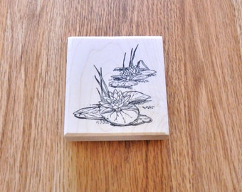 """Water Lilies Large - 3.5"""" tall x 3"""" wide - 1 pc - SUT - I1029WAT"""