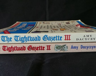 SALE Vintage Tightwad Gazette 2 And 3 Books - Organizing Cleaning Natural Living Thrifty