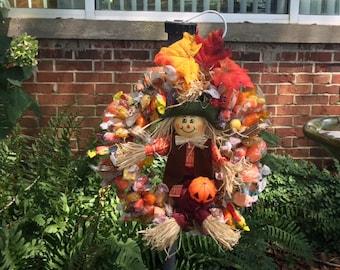 Fall Candy Wreath